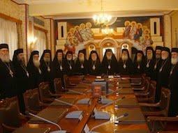 Sinodul Bisericii Greciei, alaturi de popor