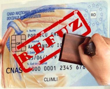 Refuzati cardurile de sanatate! Returnati-l si nu semnati de primire!