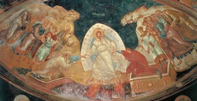 Invierea lui Iisus Hristos_coborarea la Iad