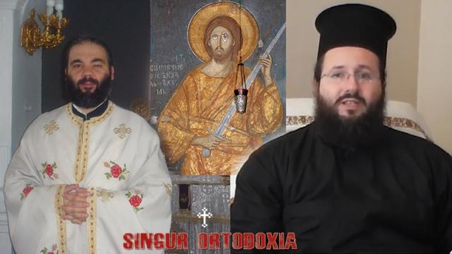 Pr dr. Ciprian-Ioan Staicu si pr. dr. Matei Vulcanescu