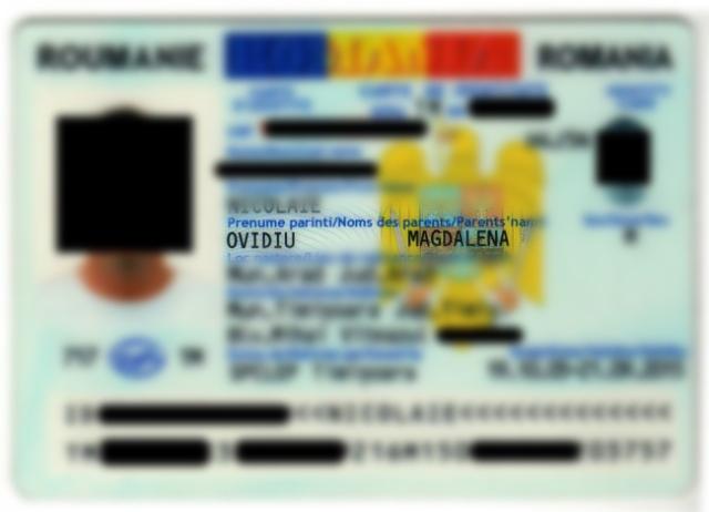 numele parintilor carte de identitate
