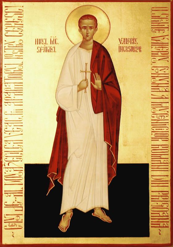 Sf. Marturisitor Valeriu Gafencu (icoana de la M-rea Petru Voda)