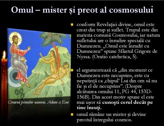 omul - mister si preot al cosmosului